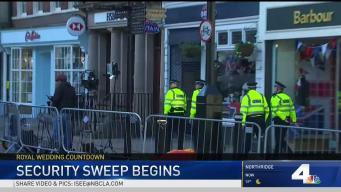 Police Secure Windsor for Royal Wedding Practice
