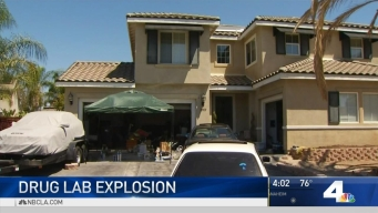 Possible Drug Lab Explodes in Neighborhood