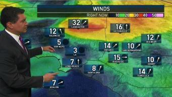 PM Forecast: Winds Kick Up