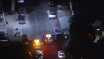Police Pursuit Ends in City of Sylmar