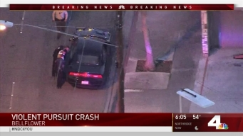 Pursuit Comes to Violent End in Bellflower