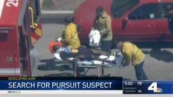 Police Believe Pursuit Suspects Took Benz to Burglaries