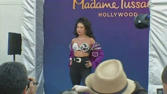 Queen of Tejano Music Selena Gets Wax Figure