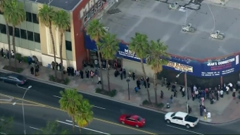 Job Seekers Line Up for Rams Hiring Event