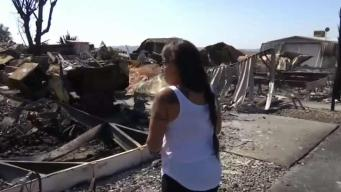 Residents Sift Through Rubble of Calimesa Fire