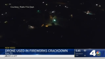 Rialto Fire Uses Drone to Catch Illegal Fireworks
