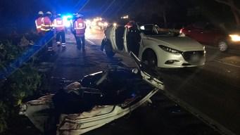 Passenger Dead, 3 Hurt After DUI Suspect Plows Into Lyft Car