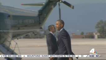 Roads Closed as President Obama Visits LA