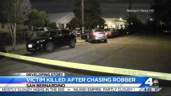 Robbery Victim Killed After He Chases Suspected Thief