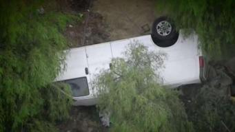 Rollover Crash on 118 Freeway Kills Homeless Person