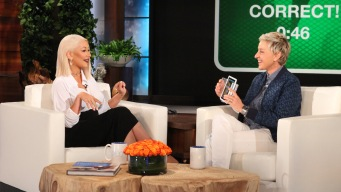'Ellen': Aguilera Sings Beyonce, Adele and More