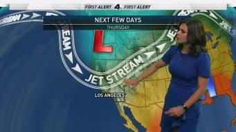 First Alert Forecast: Gradual Temperature Drop