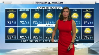First Alert Forecast: Summer Weather Continues