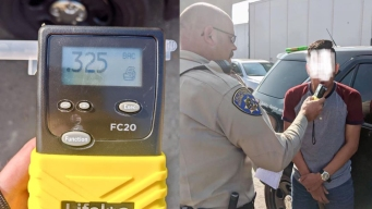 Alleged DUI Driver Falls Asleep Behind the Wheel in the Middle of OC Freeway