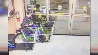 Video Captures Man Stealing Motorized Cart From Grocery Store
