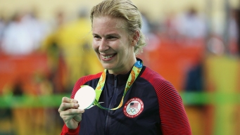 US Cyclist Sarah Hammer Takes 2nd Silver in Rio