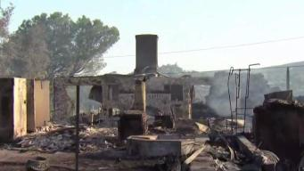 'Your Life': Several Homes Destroyed in West Fire