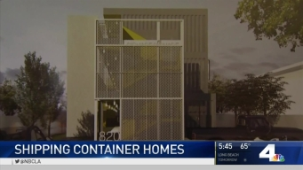 Shipping Containers May Serve as Homes for Homeless