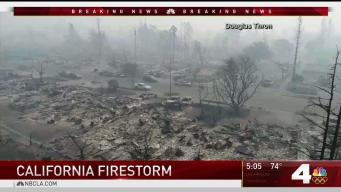 Shock as Northern California Fires Continue to Engulf Homes