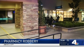 Shoppers Flee From Pharmacy Held Up by Armed Robber