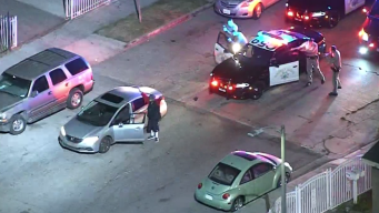 Wild Police Pursuit Out of San Fernando Valley Concludes in South LA