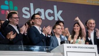 Work Messaging Service Slack's Value Jumps After Stock Debut