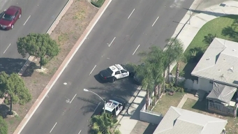 Police Ram Pursuit Driver in Orange County