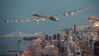 Solar-Powered Plane Makes Historic Trip Across Pacific