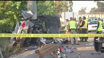 Speed Played Factor in 710 Freeway Crash That Killed 4