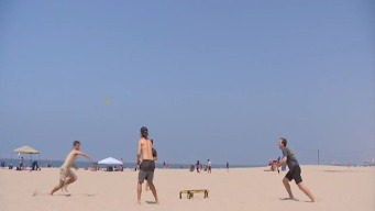 Spikeball Aims to Popularize Volleyball Alternative
