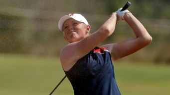 Women's Golf: Park Leads by 1 Shot Over Lewis