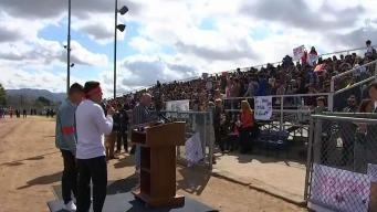Students Join Walkout in Sun Valley