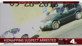 Suspect Arrested After Kidnapping Caught on Camera