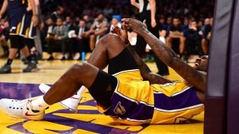 "Lakers' Tarik Black ""Questionable"" Against Sixers"