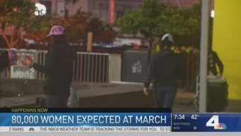 Thousands Expected at Womens March Los Angeles