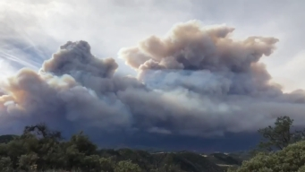 Time-Lapse Shows Rise and Collapse of Wildfire Smoke Plume