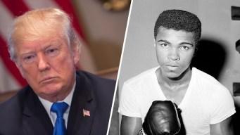 Trump Teases a Muhammad Ali Pardon, Which Isn't Necessary