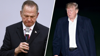 Trump Keeps Silent as Moore-Alabama Storm Grows Louder