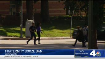 UCLA Bans Alcohol at Frat Parties