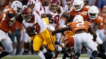 Texas Beats No. 22 USC, 37-14