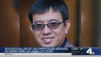 USC Grad Student Charged in Professor's Killing