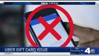 Uber Gift Card Issue Raised