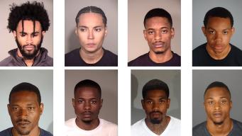 Eight Arrested in Residential Burglaries in LA, Ventura