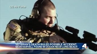 Veteran Found Dead at Long Beach Shore