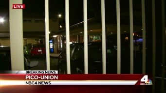 Victim 's Face Grazed by Bullet at Pico-Union Motel