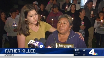 Vigil Held for Father Killed in Anaheim Hit-and-Run