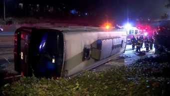 29 People Hurt When Bus Overturns in SF, Snarling Traffic