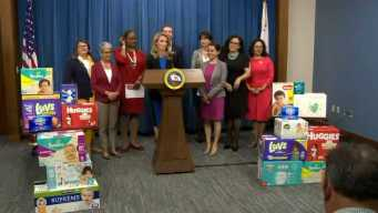 California Governor Wants to End Tax on Tampons, Diapers