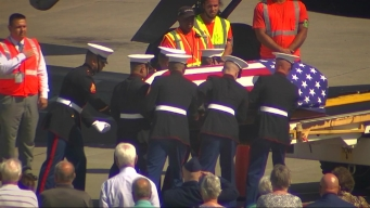 Remains of WWII Soldier Return Home