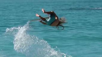 Wake Surfing with a World Champion Skimboarder